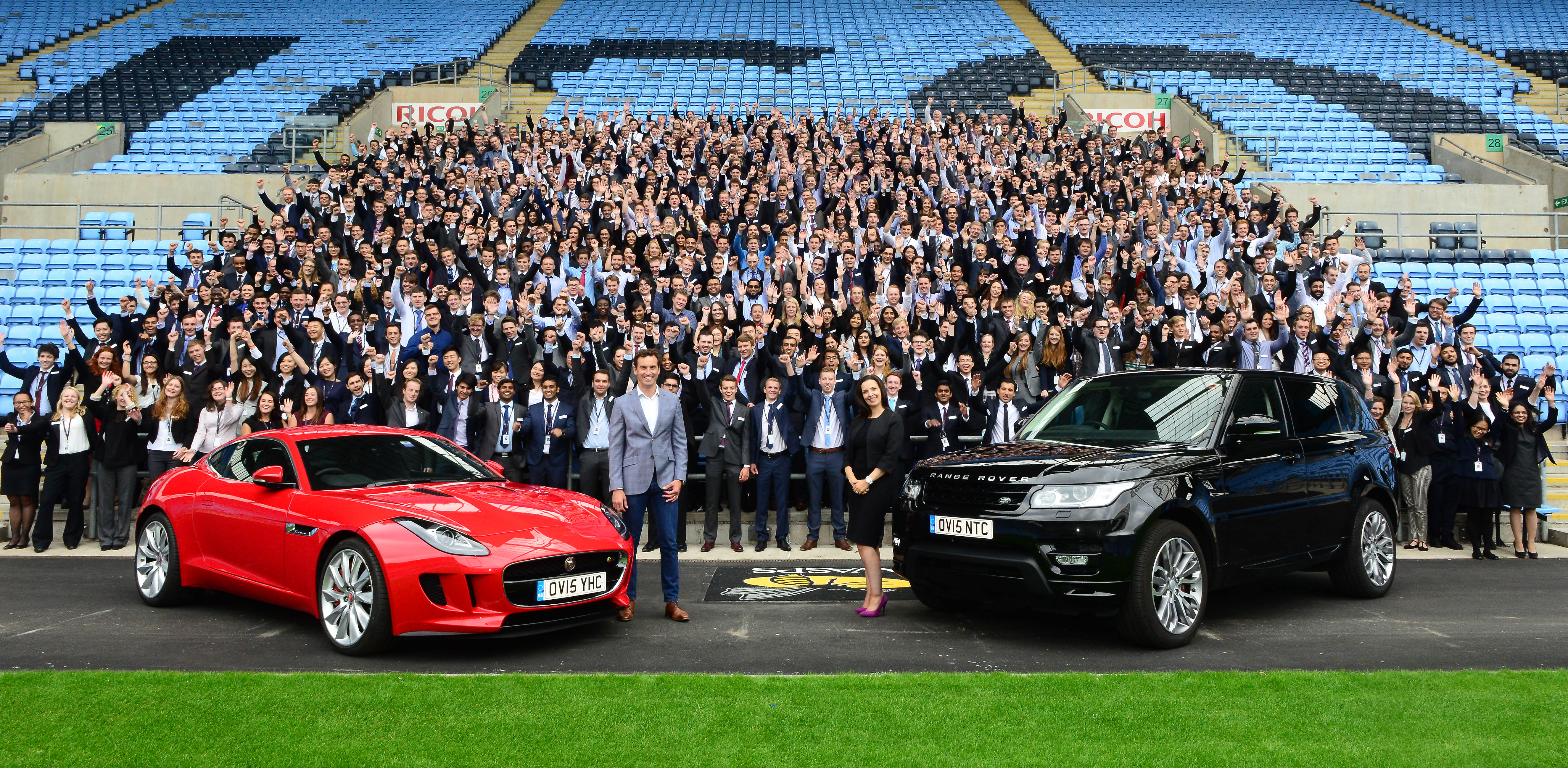 Jaguar Land Rover >> Jaguar Land Rover Welcomes Record Intake Of Graduates And